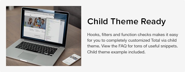 Total WordPress Theme: Child Theme Ready
