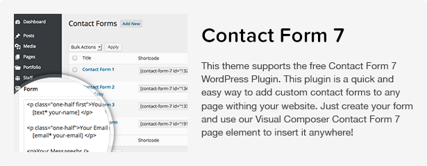Total WordPress Theme: Contact Form 7
