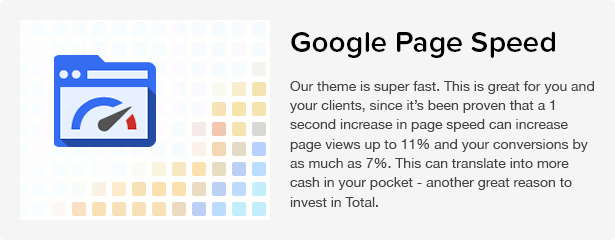 Total WordPress Theme: Page Speed