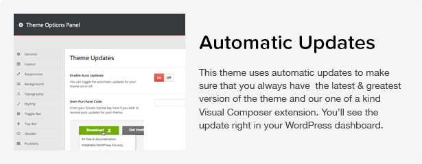 Total WordPress Theme: Updates