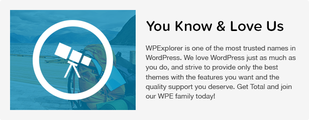 Total WordPress Theme: WPExplorer Brand