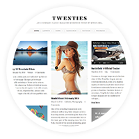 Twenties - Clean, Responsive Blog WordPress Theme