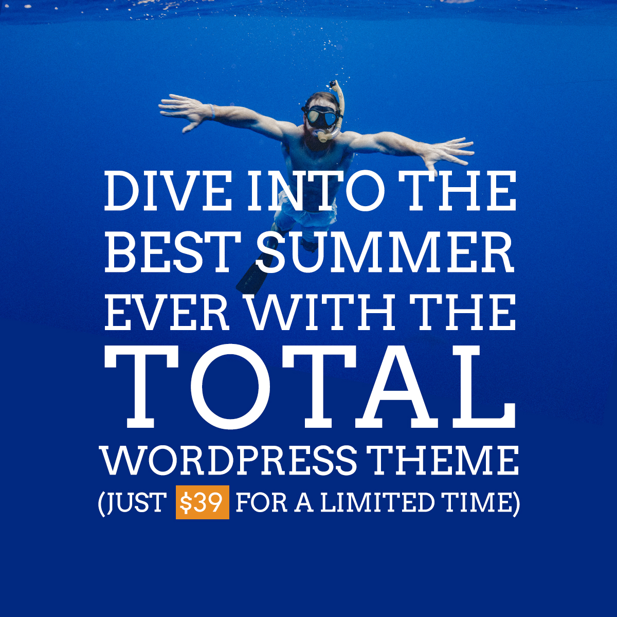 Dive into Summer with Total  - dive into total - Total – Responsive Multi-Purpose WordPress Theme